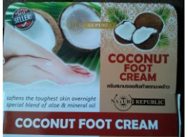 Coconut foot cream 80 ml