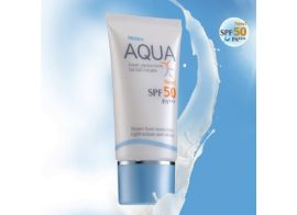 Mistine Aqua Base Sunscreen Facial Cream SPF 50 PA+++ 20 г