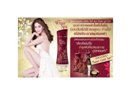 Mistine White Spa Gold UV protection Lightening Whitening Body Lotion vitamin B3 200 мл