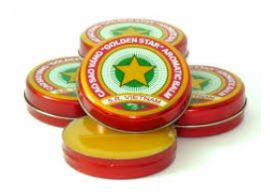 Golden Star Balm 12 шт по 10г