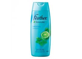 Feather Nature Plus Refresh Scalp Shampoo 380мл
