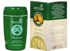 Biotique Bio papaya Smoothing and Revitalizing Scrub 85g